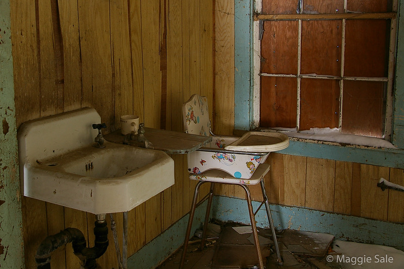 Sink and Highchair, Norfolk County, ON