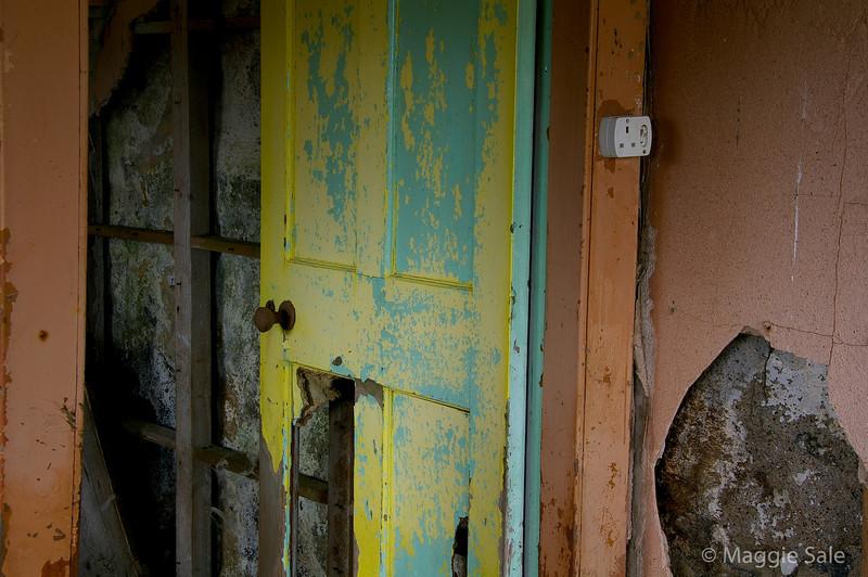 Bedroom Door, Isle of Lewis
