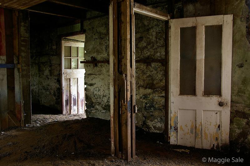 Interior Doorways, South Uist