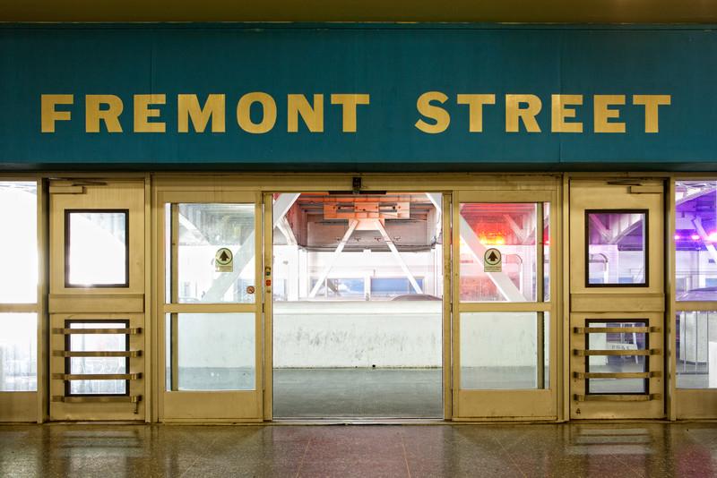 Fremont Street Exit