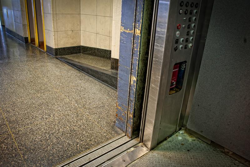 Transbay Terminal Elevator