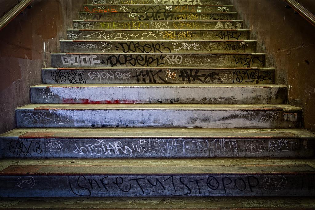 Transbay Terminal Stairs