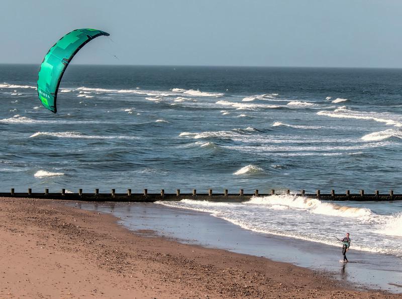 Kite Surfing on the Beach.jpg