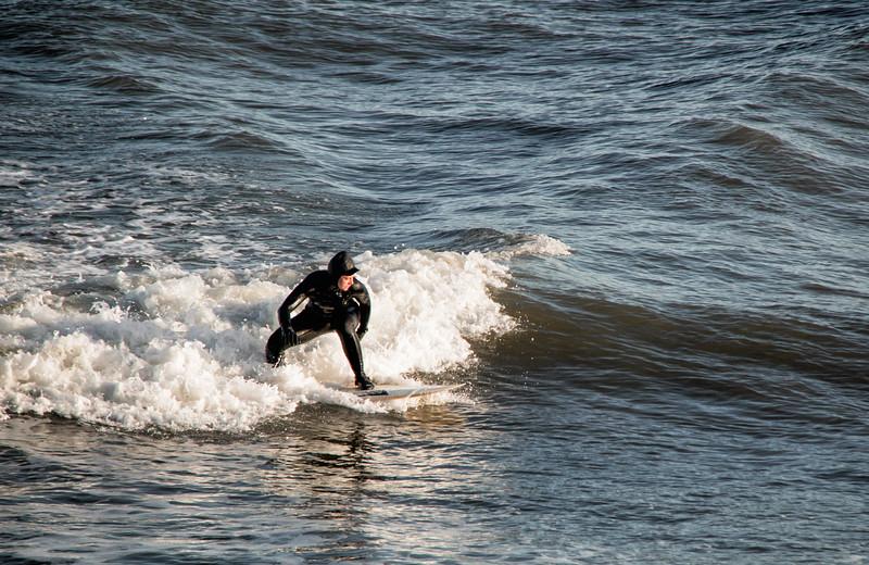 Girl Surfer Aberdeen Beach