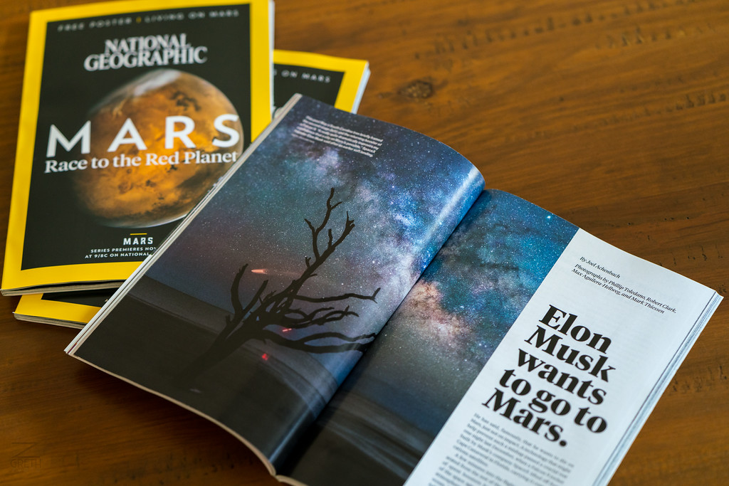 National Geographic Magazine (November, 2016)