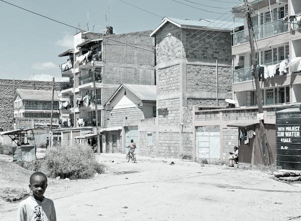 A Nairobi neighborhood ll Kenya (December 2011)
