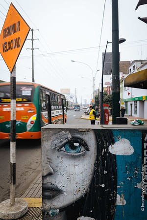 Avenida Angamo in the Miraflores neighborhood ll Lima, Peru (July 2019)