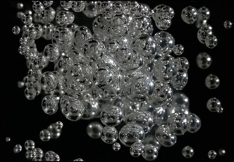 <center>Acrylic Bubbles (Globular Cluster), #6667</center>