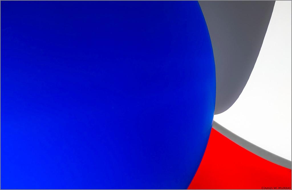 Étude du bleu, blanc et rouge  ... [X100F.2018.2053]