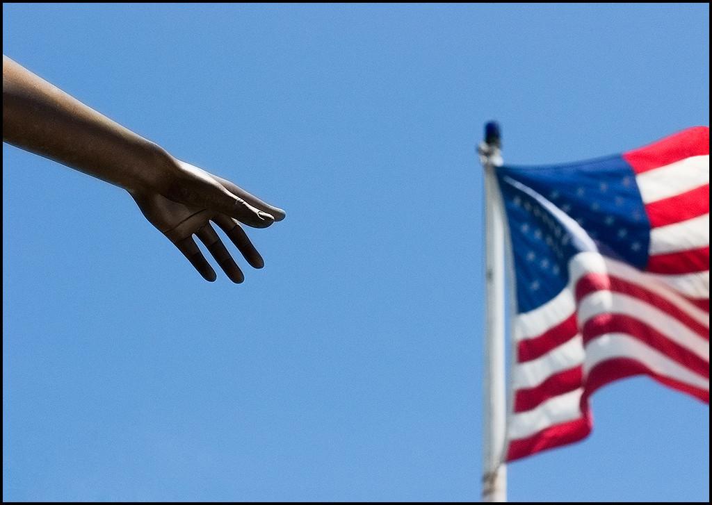 <center><i>Flag Grab</i>, #8888</center>