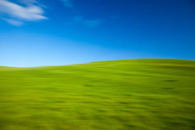 Green Hills and Blue sky, Petaluma