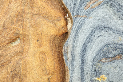 Abstract Patterns in Sandstone ,Point Lobos CA.