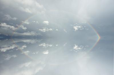 Rainbow, Mirror Effect, The Palouse, Eastern Washington