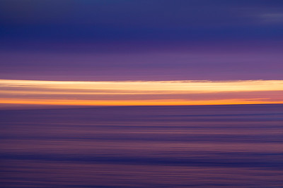 Horizontal Motion blur. Moss Point. Laguna Beach Ca.