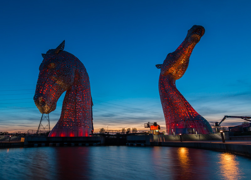 The Kelpies, Falkirk Scotland