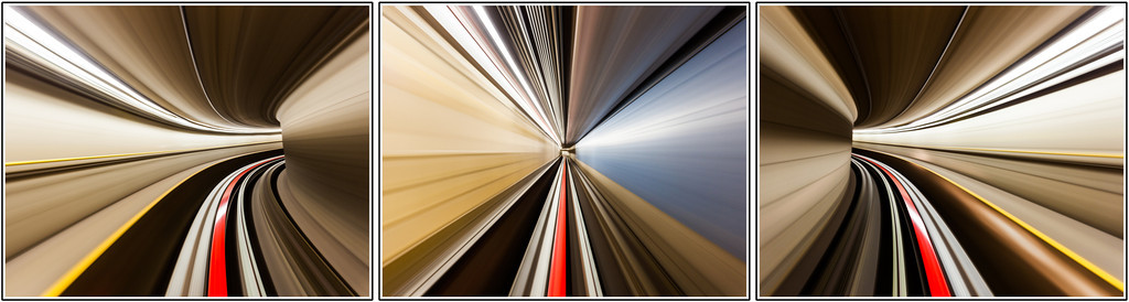 Speed (Triptych)