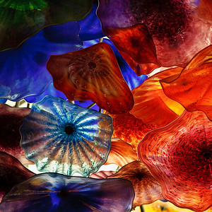 Detail from the ceiling of the Bellagio lobby - Las Vegas Nevada Canon 40D