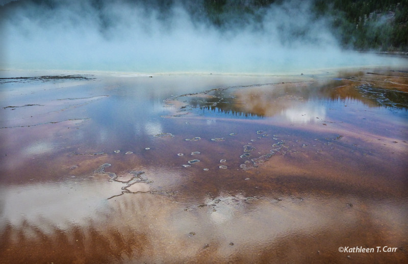 Grand Prismatic Spring #175, Yellowstone