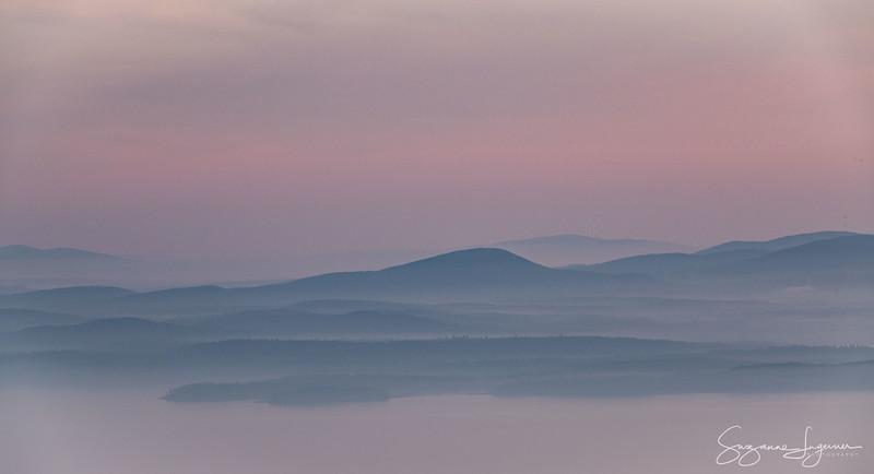 Above the Fog, Acadia National Park, Maine