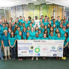 "Students and staff of Alaska Business Week pose with the Alaska Nanook in the Wood Center on the UAF campus. The week-long event is sponsored each summer by UAF's School of Management and the Northern Leadership Center.  <div class=""ss-paypal-button"">Filename: AAR-13-3855-8.jpg</div><div class=""ss-paypal-button-end"" style=""""></div>"