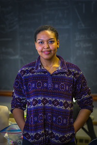 Meranda Okoomealingok, a Native of Savonga on St. Lawrence Island, is studying to be a registered nurse at UAF's Northwest Campus in Nome.  Filename: AAR-16-4865-312.jpg
