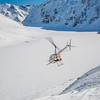 "A team lead by Research Assistant Professor Anna Liljedahl sets off via helicopter to sample snow depths on the Jarvis Glacier, about 35 miles south of Delta Junction.  <div class=""ss-paypal-button"">Filename: AAR-13-3795-236.jpg</div><div class=""ss-paypal-button-end"" style=""""></div>"