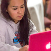 "Senior rural development major Kelsey Wallace from Bethel works on her laptop at an evening study session during a weeklong seminar on understanding the legislative process in Juneau.  <div class=""ss-paypal-button"">Filename: AAR-14-4054-380.jpg</div><div class=""ss-paypal-button-end"" style=""""></div>"