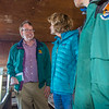 "Brian Barnes, director of UAF's Institute of Arctic Biology, visits with U.S. Senator Lisa Murkowski during the senator's brief visit to IAB's Toolik Field Station on Alaska's North Slope in Sept, 2013.  <div class=""ss-paypal-button"">Filename: AAR-13-3929-255.jpg</div><div class=""ss-paypal-button-end""></div>"