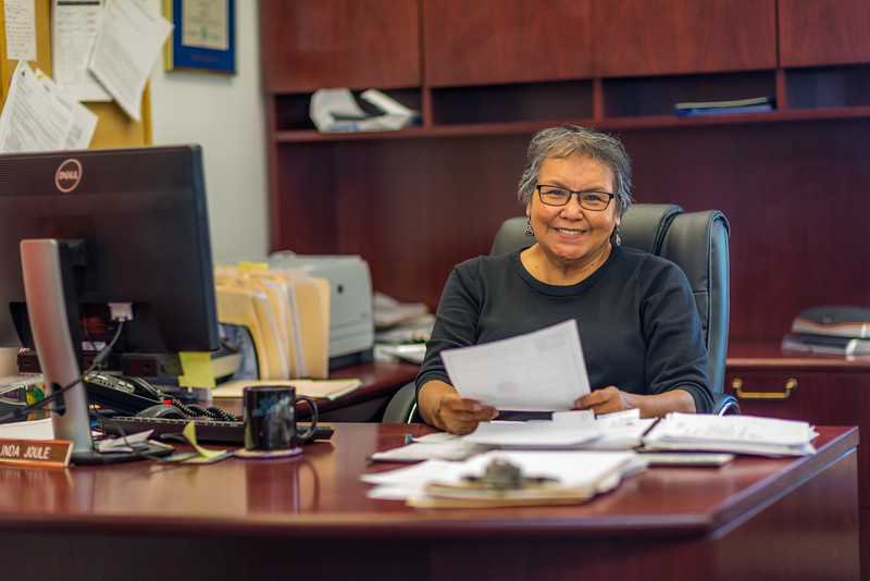 "Linda Joule is the director of UAF's Chukchi Campus in Kotzebue.  <div class=""ss-paypal-button"">Filename: AAR-16-4863-546.jpg</div><div class=""ss-paypal-button-end""></div>"