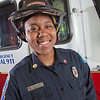 "UAF student firefighter/EMTs Lillian Hampton poses by one of the firetrucks housed in the Whitaker Building on the Fairbanks campus.  <div class=""ss-paypal-button"">Filename: AAR-11-3223-113.jpg</div><div class=""ss-paypal-button-end"" style=""""></div>"
