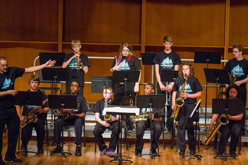 """The UAF Summer Music Academy Jazz Band performs at the Davis Concert Hall, Friday, June 15, 2012.  <div class=""""ss-paypal-button"""">Filename: AAR-12-3439-2.jpg</div><div class=""""ss-paypal-button-end"""" style=""""""""></div>"""