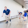 "Nathan Barnett dashes to retrieve a part for the bridge during the 2016 UAF Steel Bridge team's practice in the hallway of the Duckering Building before competing in the national competition.  <div class=""ss-paypal-button"">Filename: AAR-16-4888-11.jpg</div><div class=""ss-paypal-button-end""></div>"