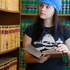 """Samantha D'Hondt conducts some research for her paralegal studies class at CTC's law library.  <div class=""""ss-paypal-button"""">Filename: AAR-11-3225-50.jpg</div><div class=""""ss-paypal-button-end"""" style=""""""""></div>"""