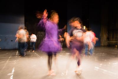 RAHI students learn traditional Alaska Native Dances at the Salisbury Theater.  Filename: AAR-12-3452-22.jpg