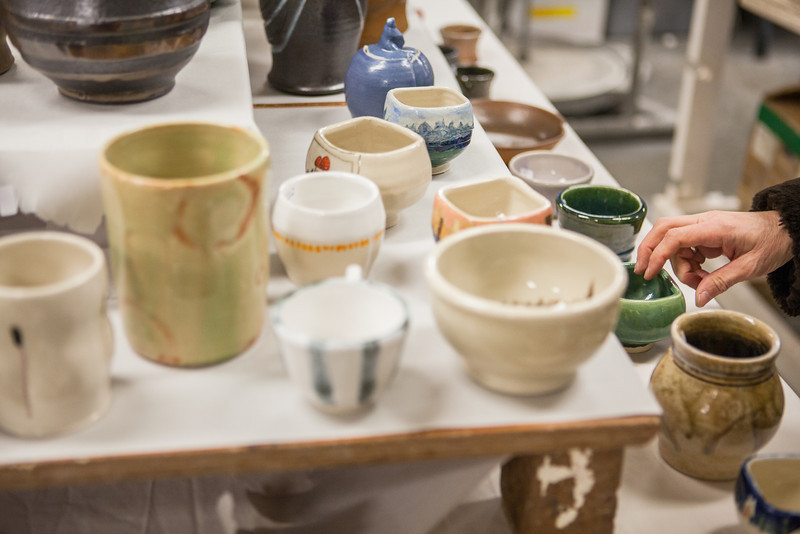 "Student potters' works of art were on sale for the public during the 2012 Student Artist Ceramics Sale on December.  <div class=""ss-paypal-button"">Filename: AAR-12-3683-13.jpg</div><div class=""ss-paypal-button-end"" style=""""></div>"