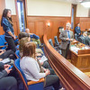 """Sarah Walker, a senior rural development major from Fairbanks, was among a group of students from rural Alaska attending a weeklong seminar on Understanding the Legislative Process in Juneau. She was formally introduced on the floor of the Alaska State Senate.  <div class=""""ss-paypal-button"""">Filename: AAR-14-4054-181.jpg</div><div class=""""ss-paypal-button-end"""" style=""""""""></div>"""