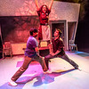 "Cast members Nicole Cowans, center, Sambit Misra, left, and Thomas Petrie rehearse a scene from Theatre UAF's production of ""Speech and Debate.""  <div class=""ss-paypal-button"">Filename: AAR-13-3755-84.jpg</div><div class=""ss-paypal-button-end"" style=""""></div>"