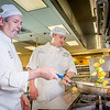 "Chris Redmond, left, and Joshua Broda prepare squash to serve during lunch at CTC's culinary arts kitchen in the Hutchison Center.  <div class=""ss-paypal-button"">Filename: AAR-13-3811-63.jpg</div><div class=""ss-paypal-button-end""></div>"