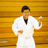 "Sporting the traditional-white gi, students of the Rural Alaska Honors Institute learn basic karate skills during their physical education class, June 18, 2012.  <div class=""ss-paypal-button"">Filename: AAR-12-3440-10.jpg</div><div class=""ss-paypal-button-end"" style=""""></div>"