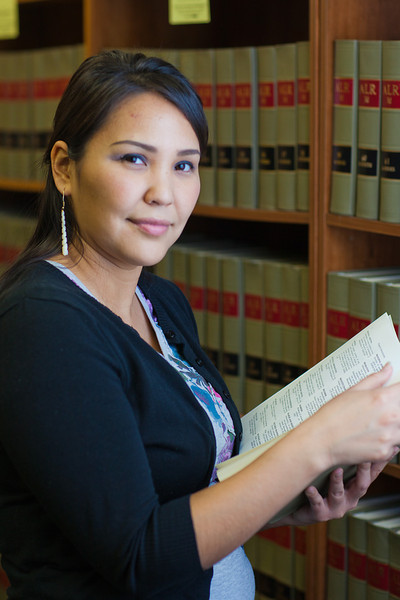 "Melissa Charlie conducts some research for her paralegal studies class in the law library at CTC's law library.  <div class=""ss-paypal-button"">Filename: AAR-11-3225-57.jpg</div><div class=""ss-paypal-button-end"" style=""""></div>"