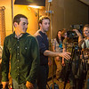 """Guest lecturer Dave Selle, center, directs a scene during the 2013 Wintermester cinematography class in the UAF Fine Arts complex.  <div class=""""ss-paypal-button"""">Filename: AAR-13-3690-8.jpg</div><div class=""""ss-paypal-button-end"""" style=""""""""></div>"""