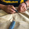 """Community members learn how to make authentic beaver hats during an evening class at UAF's Chukchi Campus in Kotzebue.  <div class=""""ss-paypal-button"""">Filename: AAR-16-4863-151.jpg</div><div class=""""ss-paypal-button-end""""></div>"""