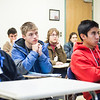 "Visiting high school students attend a mock engineering class during Discover UAF's InsideOut program in late Oct. 2012 at the Gruening Building.  <div class=""ss-paypal-button"">Filename: AAR-12-3614-28.jpg</div><div class=""ss-paypal-button-end"" style=""""></div>"
