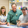 "Veterinary Medicine student, Christopher, Clement, interns with Dr. David Hunt during Summer of 2014 at the Sitka Animal Hospital in Sitka, Alaska.  <div class=""ss-paypal-button"">Filename: AAR-14-4206-38.jpg</div><div class=""ss-paypal-button-end""></div>"