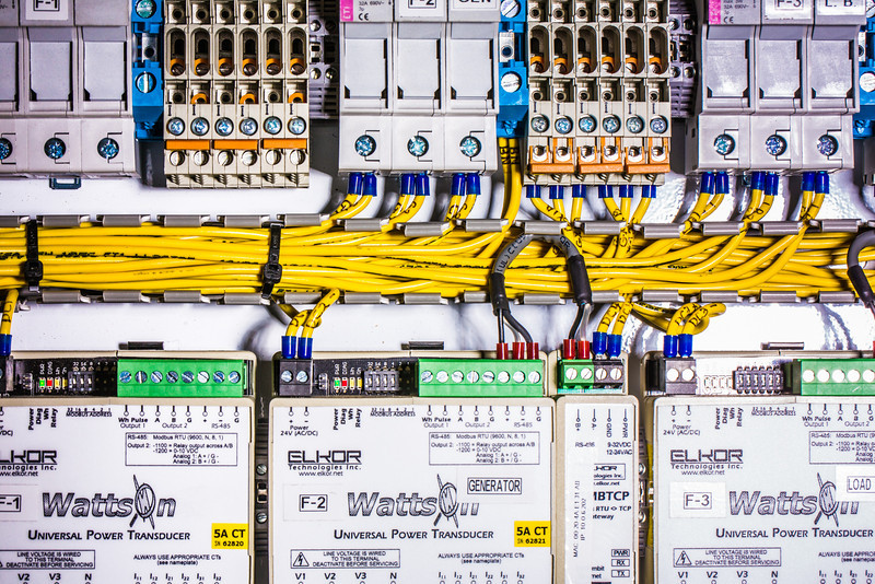"""A test circuit board being utilized at the Alaska Center for Energy and Power.  <div class=""""ss-paypal-button"""">Filename: AAR-13-3705-118.jpg</div><div class=""""ss-paypal-button-end"""" style=""""""""></div>"""
