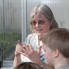 "Professor Pat Holloway with UAF's Agricultural and Forestry Experiment Station leads a group of Fairbanks school children through a tour of the new SNRAS greenhouse on Research Day 2012.  <div class=""ss-paypal-button"">Filename: AAR-12-3364-02.jpg</div><div class=""ss-paypal-button-end"" style=""""></div>"