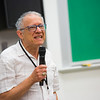 "Linguistics professor Lawrence Kaplan welcomes the 2016 Collaborative Language Research conference at the Schaible Auditorium on the Fairbanks campus.  <div class=""ss-paypal-button"">Filename: AAR-16-4919-13.jpg</div><div class=""ss-paypal-button-end""></div>"