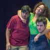 "Cast members Sambit Misra, left, Nicole Cowans, center and Thomas Petrie rehearse a scene from Theatre UAF's production of ""Speech and Debate.""  <div class=""ss-paypal-button"">Filename: AAR-13-3755-24.jpg</div><div class=""ss-paypal-button-end"" style=""""></div>"