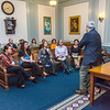 """Students from UAF's Alaska Native Studies and Rural Development program meet with Senate Finance Committee Co-Chair Pete Kelly during their weeklong seminar on Understanding the Legislative Process in the state capital of Juneau.  <div class=""""ss-paypal-button"""">Filename: AAR-14-4053-202.jpg</div><div class=""""ss-paypal-button-end"""" style=""""""""></div>"""