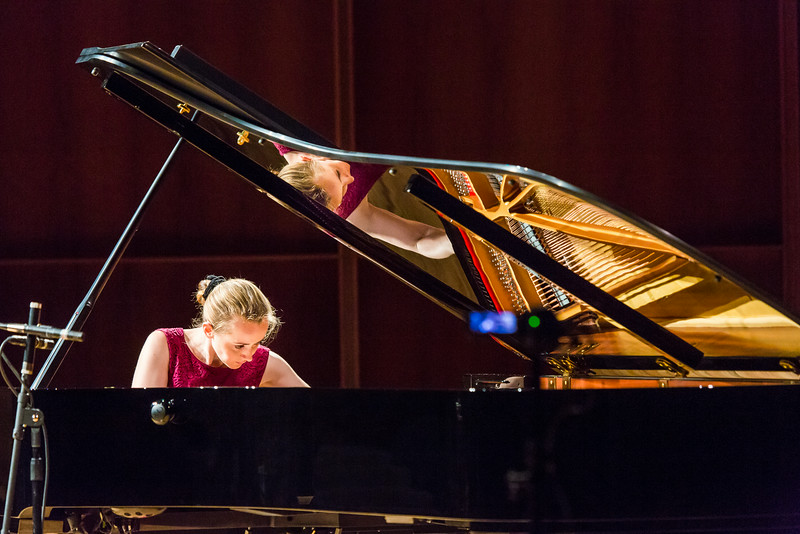"""Oxana Shevchenko performs her recital during the first round of the Alaska International Piano-e-Competition at the Davis Concert Hall.  <div class=""""ss-paypal-button"""">Filename: AAR-14-4228-30.jpg</div><div class=""""ss-paypal-button-end""""></div>"""